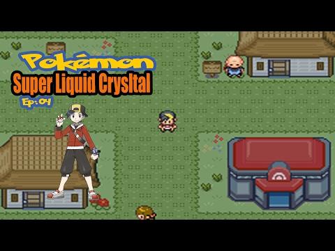 Pokémon Super Liquid Crystal #04: Eucreak e Hm's Rock Smash e Surf