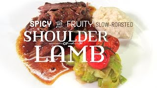 Food Drink Spicy Fruity Slow Roasted Shoulder Of Lamb Part 1