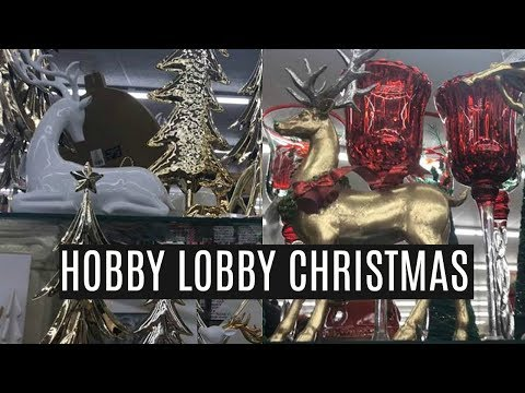 HOBBY LOBBY CHRISTMAS | Shop With Me | Holiday Ideas