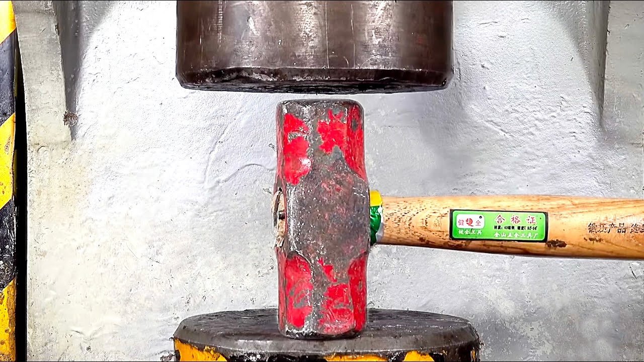 More Than100 Best Hydraulic Press Moments , Oddly Satisfying!