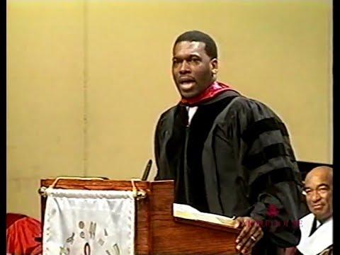 Pastor Bertrand Bailey Jr @ Baccalaureate Svc