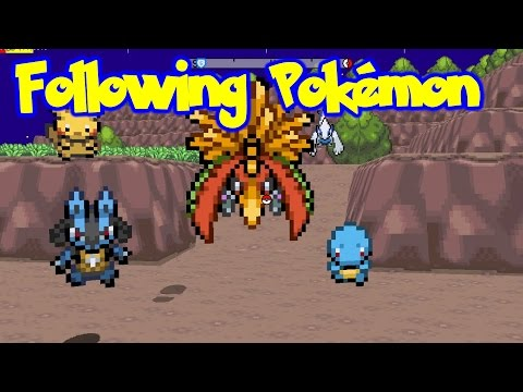 Following Pokémon - Pokémon Shadow Unbound (Game Maker Studio)
