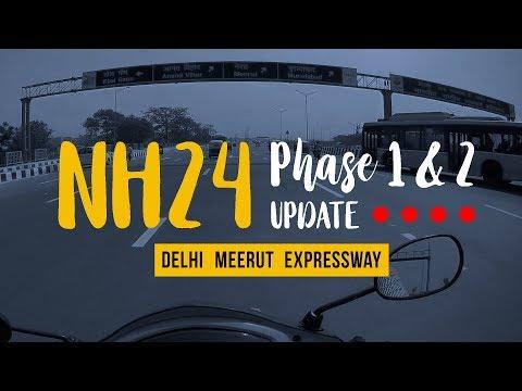 NH 24 Widening Update    Phase 1 & 2