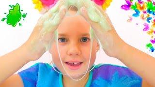 Download ЛИЗУН - Как сделать? Уроки Химии с Ксюшей и Алисой. Смешное видео для детей. Развивающие игры. Video