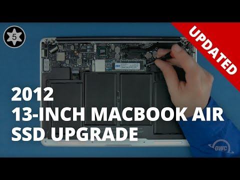 How to Install a SSD in a 13-inch MacBook Air 2012 - UPDATED