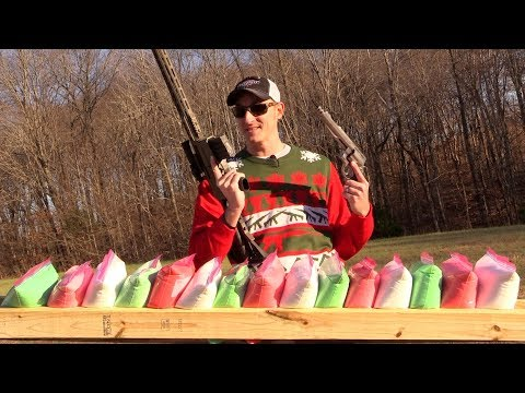 HOW MANY GALLONS OF SLIME WILL IT TAKE TO STOP A BULLET? 🌲🌲🌲