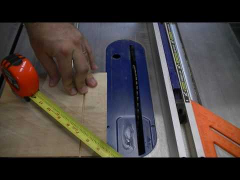 Woodworking Tip #1 cutting slots without a dado set