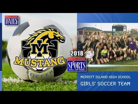 MIHS Girls Soccer Team: 2018 Space Coast Sports Hall of Fame