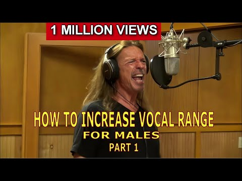 How To Increase Vocal Range For Males - Part 1 - Ken Tamplin Vocal Academy