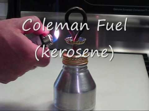 Alcohol coil pressure stove