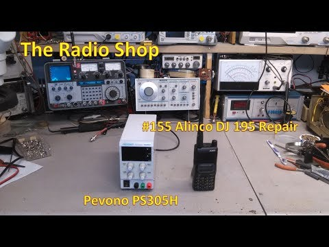 #155 Alinco DJ 195 Repair   Pevono PS305H