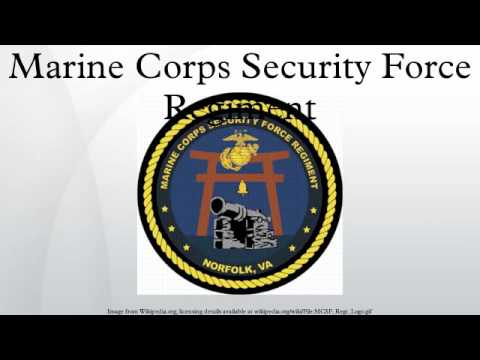Marine Corps Security Force Regiment