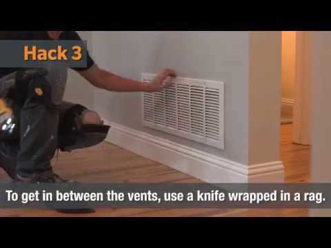 How To Clean Air Vents | Home Hacks