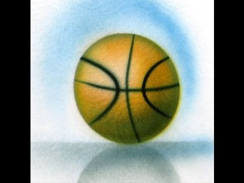 Cake Decorating Airbrush--Part 7--Ball or Sphere - Basketball