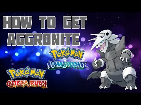 How to Get Aggronite in ORAS - Mega Stone Location Guide