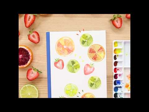 Watercolor Painting and Digitizing Online Class