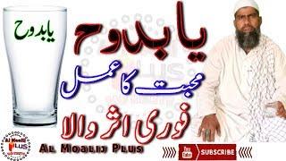 Muhabbat Ka Faori Asar Wala Amal | Ya Budduhu Ka Aazmuda Amal | Ya Budduhu | By Al Moalij Plus