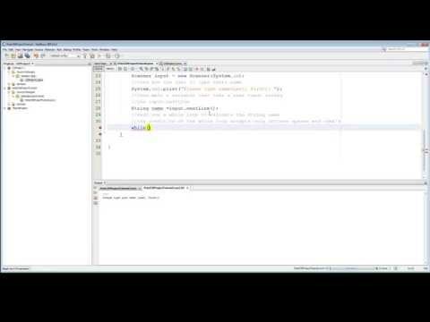 Java name input validation