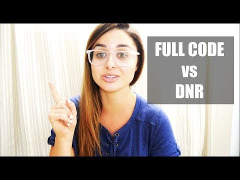 FULL CODE vs DNR