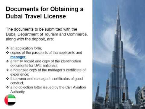 Open a Travel Agency in Dubai