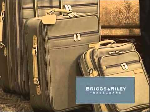 Briggs & Riley ad for Suitcases and More
