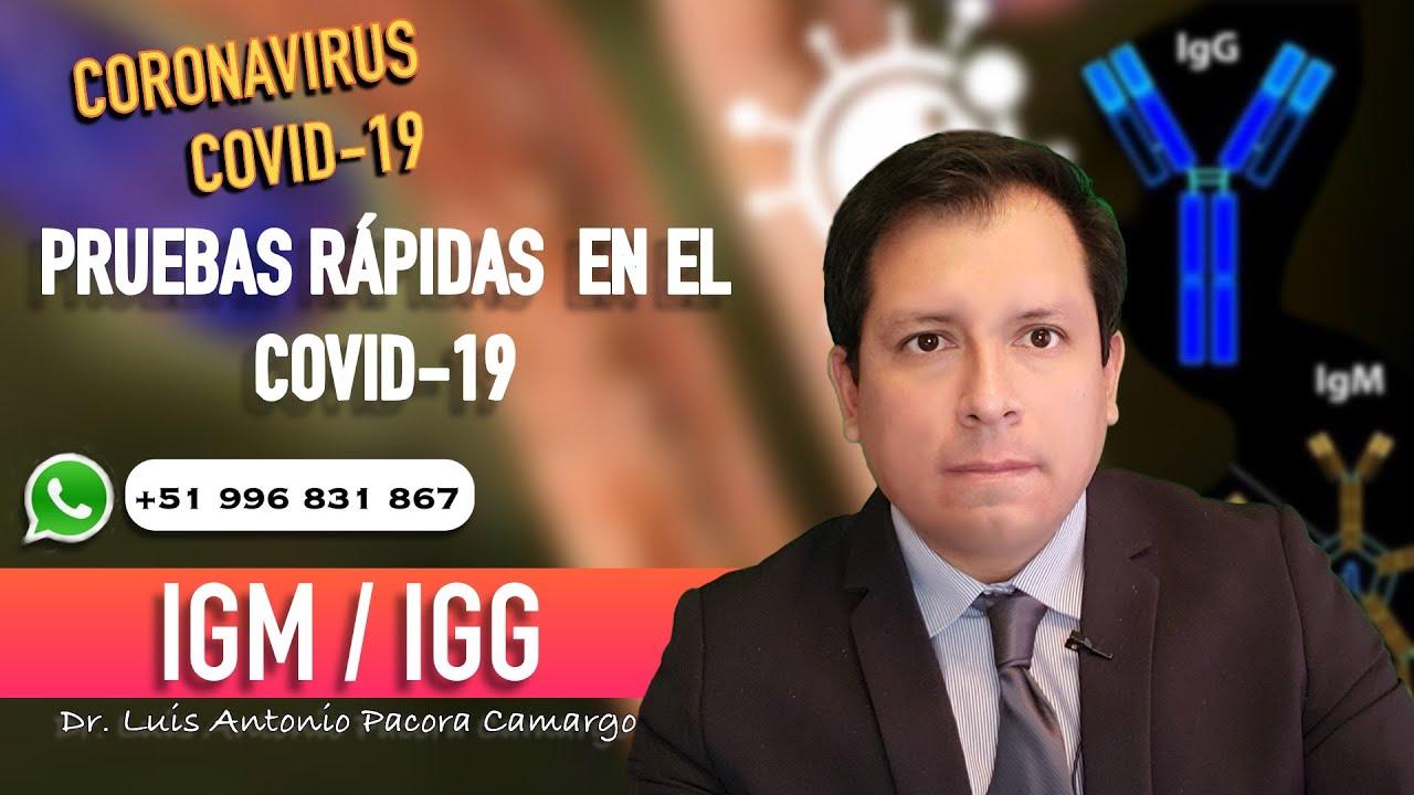 IGG & IGM ❓PRUEBAS RÁPIDAS EN EL COVID -19, ENTENDIENDO SU SIGNIFICADO ❗️
