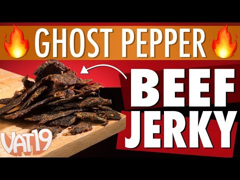 Ghost Pepper Beef Jerky [Spicy & Savory!]