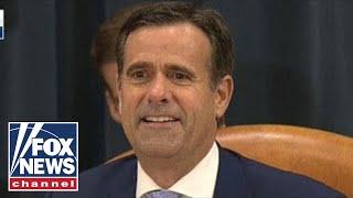 Ratcliffe: Trump didn't get caught, Schiff got caught with the whistleblower
