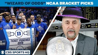 Download The WIZARD OF ODDS picks his 2019 NCAA TOURNAMENT BRACKET | CBS Sports HQ Video