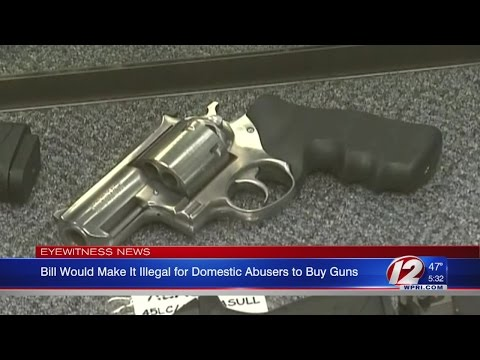 Bill Aims to Make it Illegal for Domestic Abusers to Buy Guns