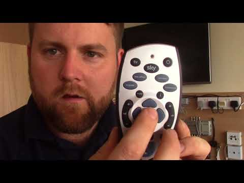 How To Programme A SKY REMOTE To Control TV VOLUME