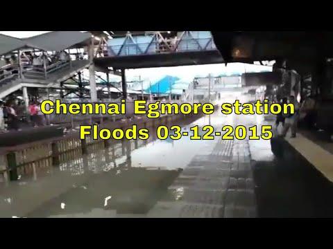 Chennai Egmore station | Chennai Floods 03-12-2015