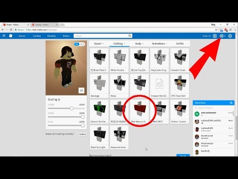 ROBLOX - How to get free clothes! [2018]