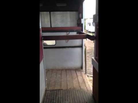 Transit horsebox