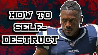 How Antonio Brown Sabotaged His Own NFL Career