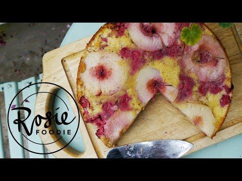 Peach Melba Cake | Rosie Foodie | #TBT Ep.1