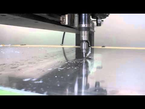 CNC Router - Drilling Aluminum Sheet Holes