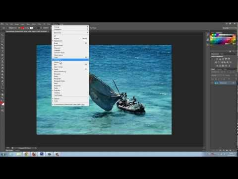 Photoshop CS6 - How to Undo and Redo Changes