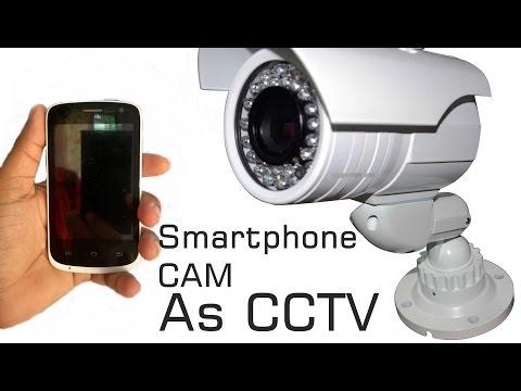 {Hindi} How To make Your Android Phone As CCTV Camera Spycamera