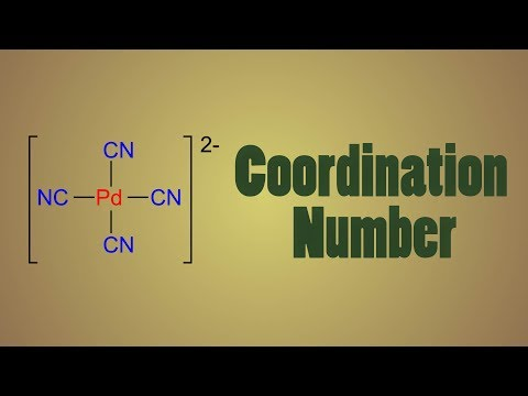 coordination number