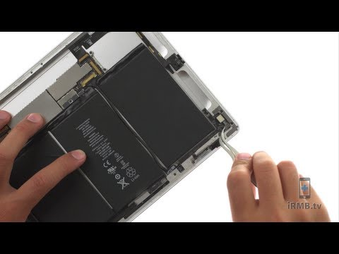 Back Camera Repair - iPad 2 GSM How to Tutorial