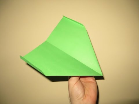 How to Make Cool Paper Airplanes that Fly Far and Straight - Very Easy - Video 10