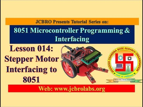 Lesson 14: Stepper Motor Interfacing to 8051 Microcontroller in Embedded C