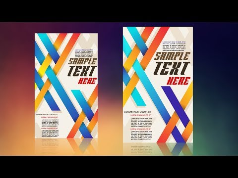 CorelDraw x7 Tutorial - How to Make Professional  Flyer Design Best idea By AS GRAPHICS