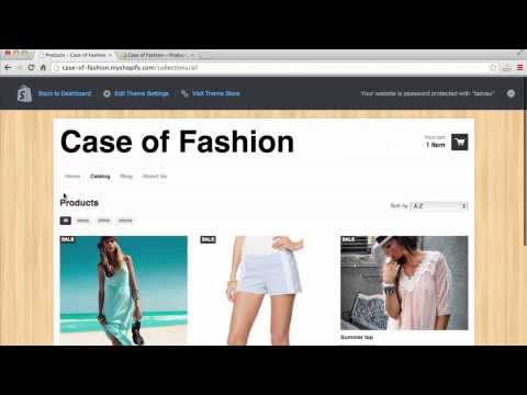 How to Make a Fashion Website