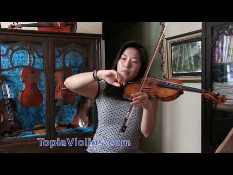 Upbow Staccato on the Violin