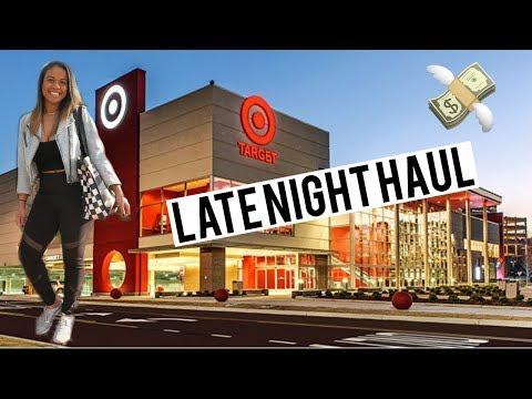 LATE NIGHT TARGET HAUL!