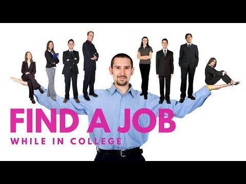 Idea #17 Find a Job While in College