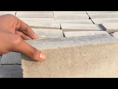 Fly ash brick strength test