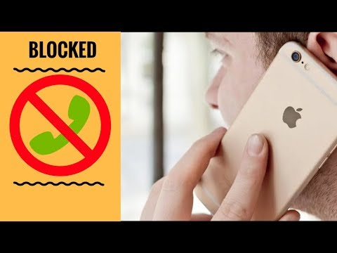 Getting to know if you're blocked on iphone